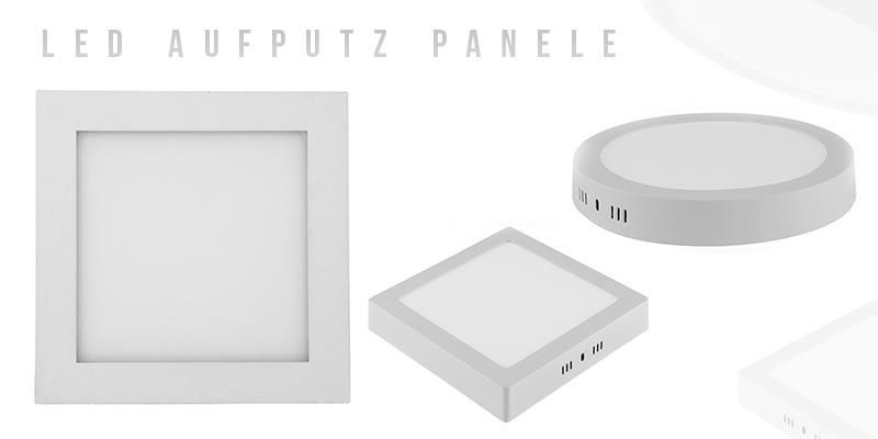 LED Panel Aufputz Leuchte Wandpanel Deckenpaneele