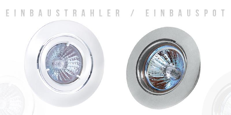 LED Einbaustrahler Deckenleuchte Lampe Deckenlampe Spot Einbauspot