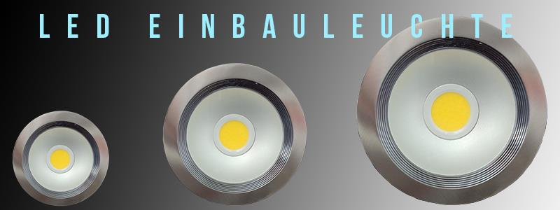 LED Einbauleuchten Einbaulampen Einbaurahmen Einbau Rahmen Deckenspot 8w 10w 20w
