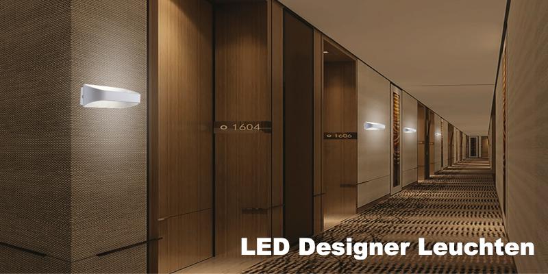 LED Designer Wandleuchte