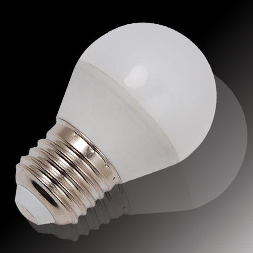 5x LED MINIGLOBE 3,5W E27 6400K KALTWEIß HL4380