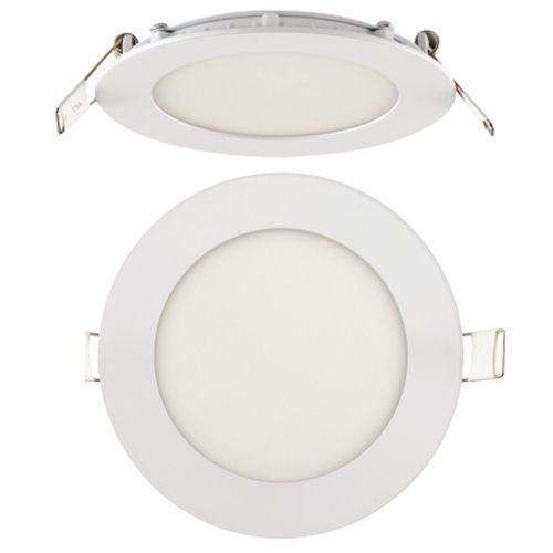 6W Ultraslim LED Panel Einbaustrahler Deckenleuchte Rund Leuchte weiss warmweiss