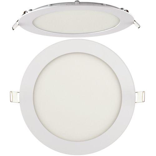 15W Ultraslim LED Panel Einbaustrahler Deckenleuchte Rund Leuchte weiss warmweiss