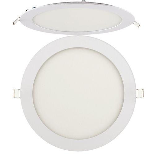 18W Ultraslim LED Panel Einbaustrahler Deckenleuchte Rund Leuchte weiss warmweiss