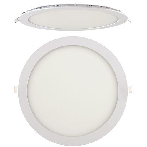 24W Ultraslim LED Panel Einbaustrahler Deckenleuchte Rund Leuchte weiss warmweiss