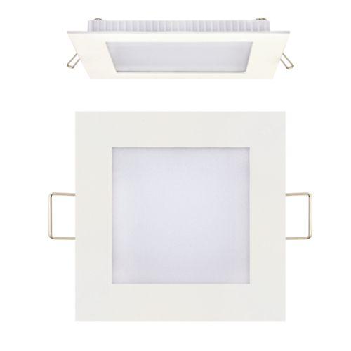3W Ultraslim LED Panel Einbaustrahler Deckenleuchte Eckig Leuchte weiss naturweiss