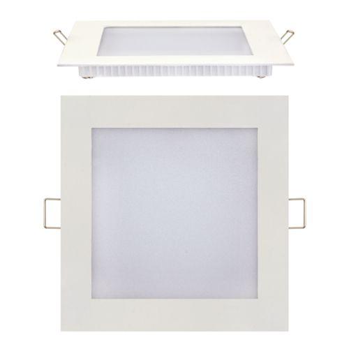 9W Ultraslim LED Panel Einbaustrahler Deckenleuchte Eckig Leuchte weiss warmweiss
