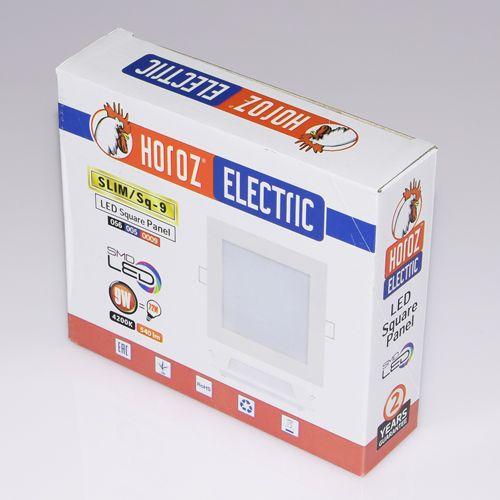 9W Ultraslim LED Panel Einbaustrahler Deckenleuchte Eckig Leuchte weiss kaltweiss