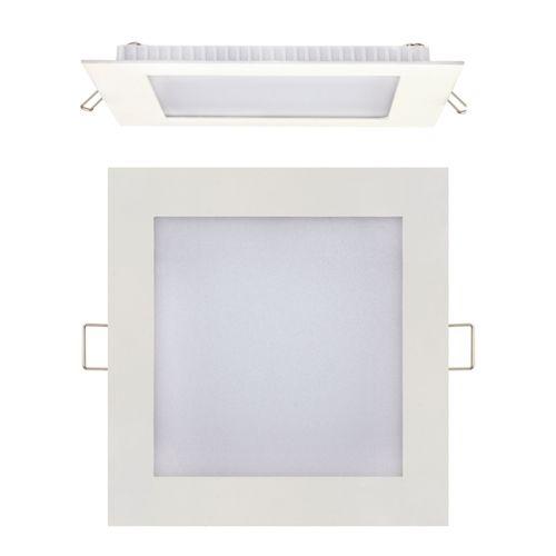 15W Ultraslim LED Panel Einbaustrahler Deckenleuchte Eckig Leuchte weiss naturweiss