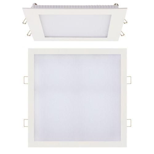 24W Ultraslim LED Panel Einbaustrahler Deckenleuchte Eckig Leuchte weiss warmweiss