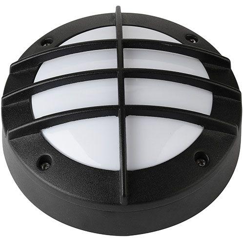 LED Kellerleuchte Kellerlampe 6W Schwarz 4000K ANT