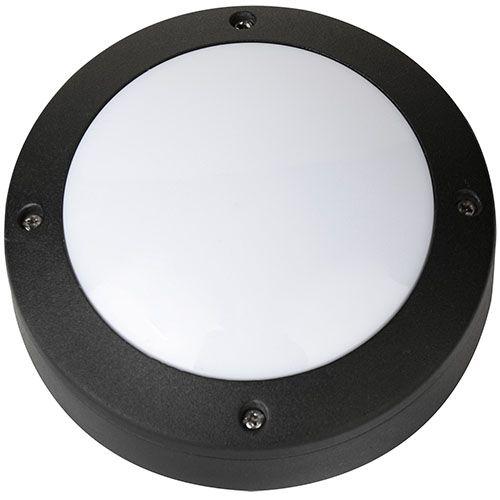 LED Kellerleuchte Kellerlampe 6W Schwarz 4000K RAMAN