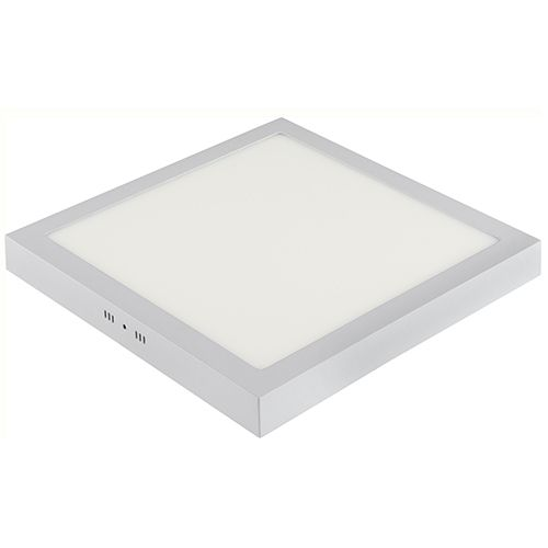 ARINA-40 LED Aufputz Panel Deckenpanel Eckig 40W, warmweiss 3000K