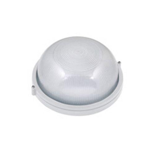 ZIGANA Feuchtraumleuchte Kellerlampe Kellerleuchte Rundleuchte Weiss E27 60W