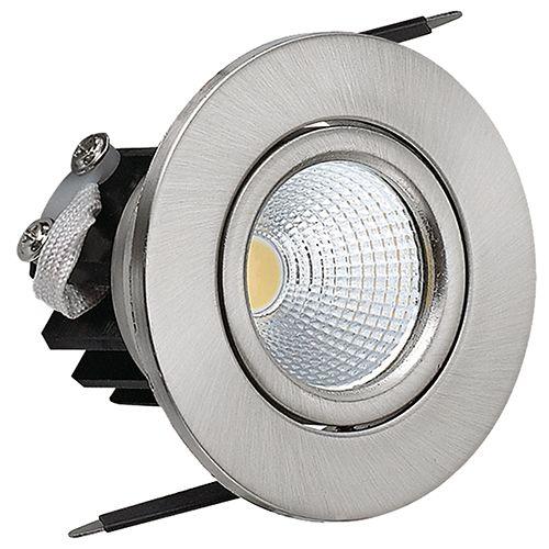 SARA 3W MatchromM 2700K COB LED Einbaustrahler Einbauleuchte Strahler Schwenkbar Rund