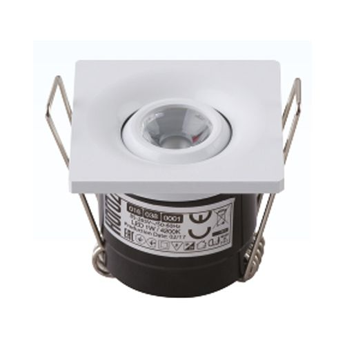 NADIA 1W MTCHRM 2700K L.DOWNLIGHT