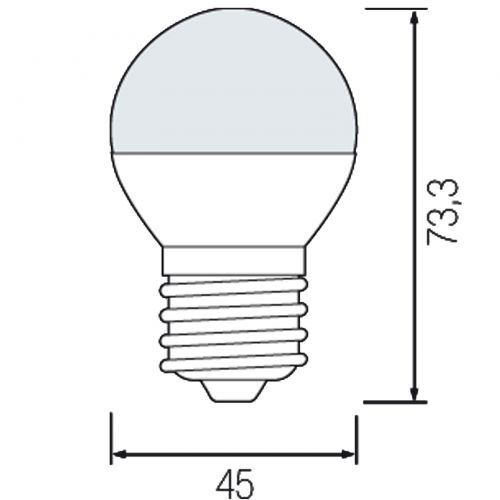 ELITE-6 6W 4200K E27 LED Leuchtmittel