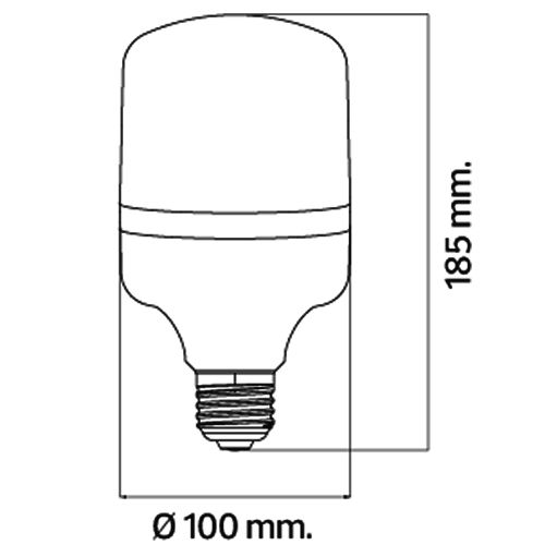 TORCH-30 30W 4200K E27 LED Leuchtmittel
