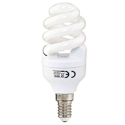 ENERGIESPARLAMPE FULL SPIRAL 11W 6400K KALTWEISS E14 MINI T2.8 HL8811