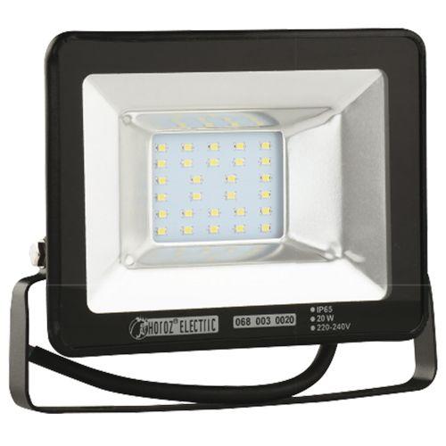 PUMA-20 20W Schwarz 6400K LED Projektor Fluter Strahler