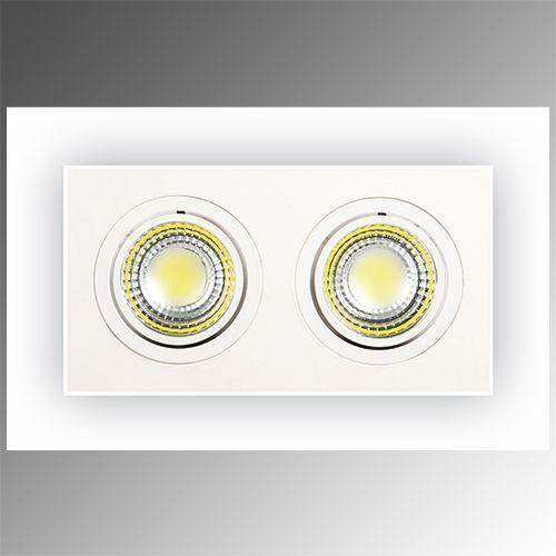 2X5W Weiss 6400K COB LED Einbauspot Einbaustrahler - ADRIANA-10