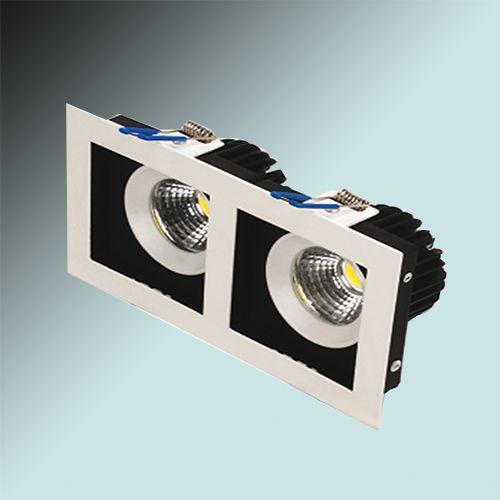 Sabrina-16 HL6722L 2X8W 6400K KALTWEISS 220-240V COB LED EINBAUSPOT