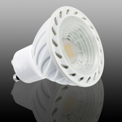 EINBAUSTRAHLER WEISS SCHWENKBAR MIT 4 Watt LED Leuchtmittel Kaltweiss GU10 ORKIDE