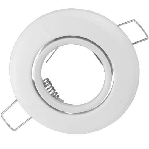 EINBAUSTRAHLER WEISS SCHWENKBAR MIT 8 Watt LED Leuchtmittel GU10 HL750