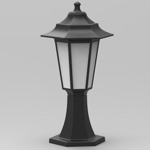 Kopie von Begonya-1 Außenlampe Wandleuchte Gartenlampe SCHWARZ