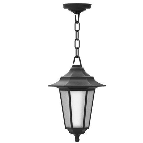 Begonya-3 Außenlampe Wandleuchte SCHWARZ - 8W WARMWEISS