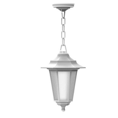 Begonya-3 Außenlampe Wandleuchte WEISS - 8W WARMWEISS