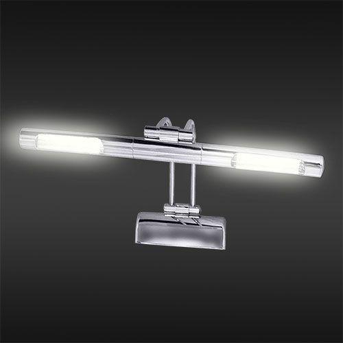 KUMRU Chrom G4 Bilder Spiegel Lampe Leuchte