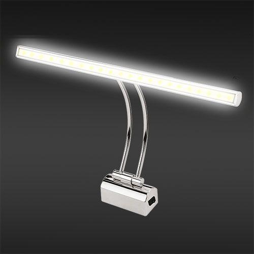 PELIKAN 4W 4200K LED Spiegelleuchte Badleuchte Schranklampe Bilderlampe Wandleuchte