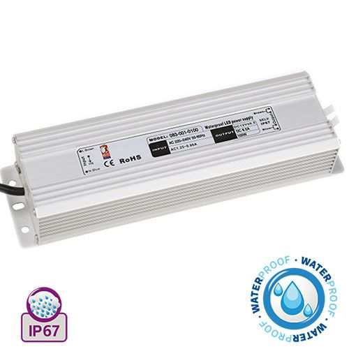 VESTA-100 100W 8.5A Feuchtraum LED Trafo