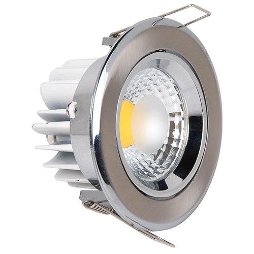 MELISA-5 5W Matt Chorm 6500K COB LED EINBAUSPOT
