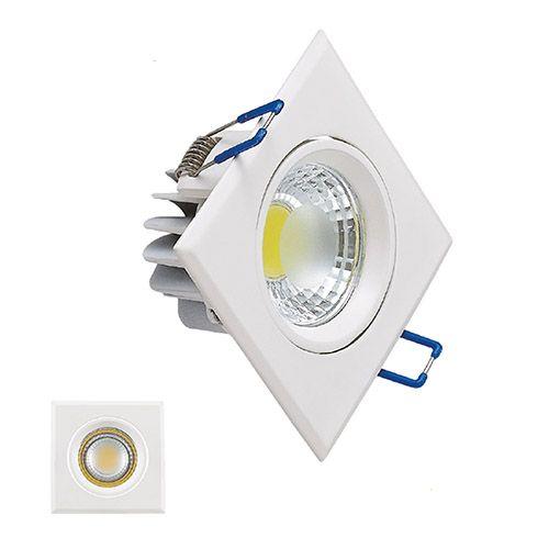 HL679L 5W WEISS 2700K WARMWEISS 220-240V COB LED EINBAUSPOT