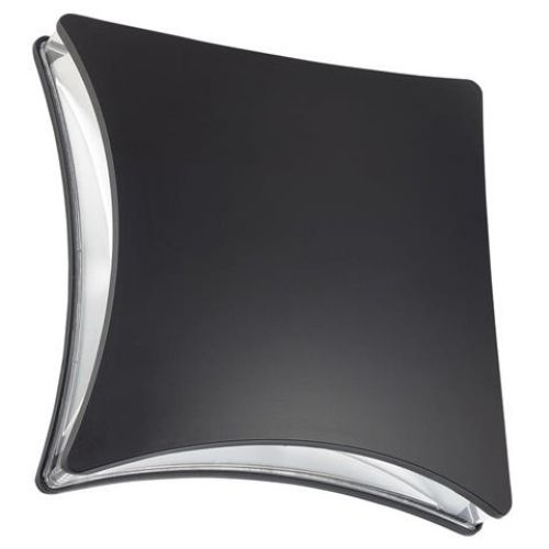 HL240L 5,5W 4100K Schwarz LED Gartenlampe Außenleuchte