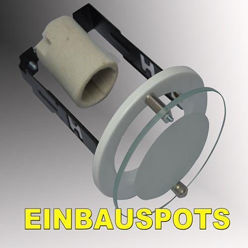 R50 EINFACH SPOT MIT GLASS WEISS E14 - 6302-032