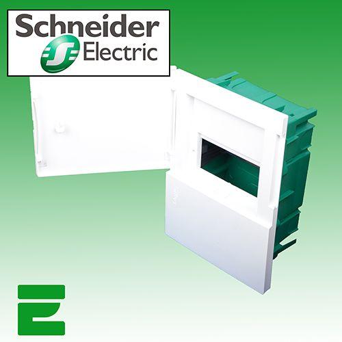 UNTERPUTZ SICHERUNGSKASTEN 4 MODUL SCHNEIDER ELECTRIC
