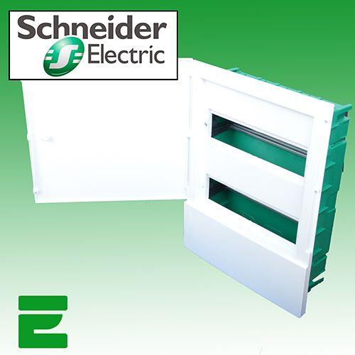 UNTERPUTZ SICHERUNGSKASTEN 24 MODUL SCHNEIDER ELECTRIC