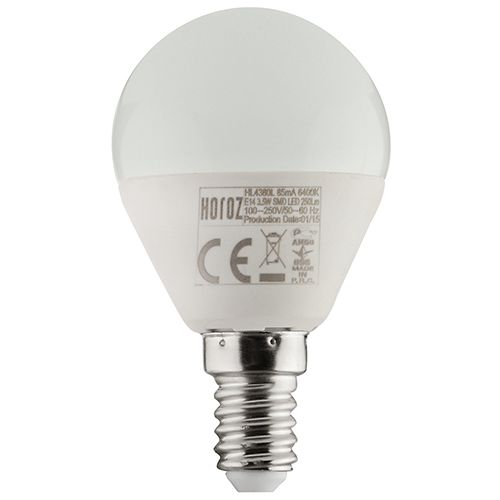 6W 4200K E14 LED Leuchtmittel  - ELITE-6