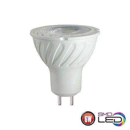 6W GU5.3 LED Leuchtmittel 3000K , warmweiss