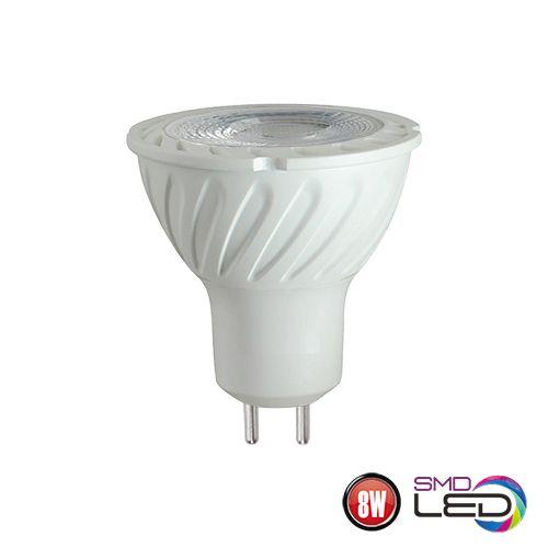 8W GU5.3 LED Leuchtmittel 3000K , warmweiss