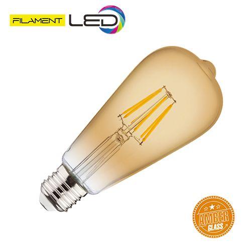 6W 2200K E27 LED Vintage Lampe Filament Leuchte - RUSTIC VINTAGE-6