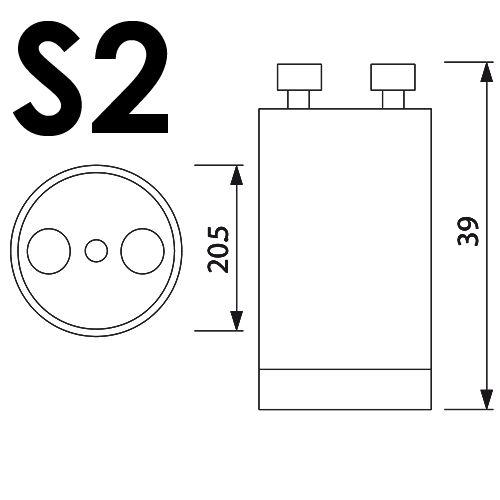 5er Pack S2 STARTER FÜR LEUCHTSTOFFRÖHRE LEUCHTSTOFFLAMPE NEONLAMPE NEONRÖHRE