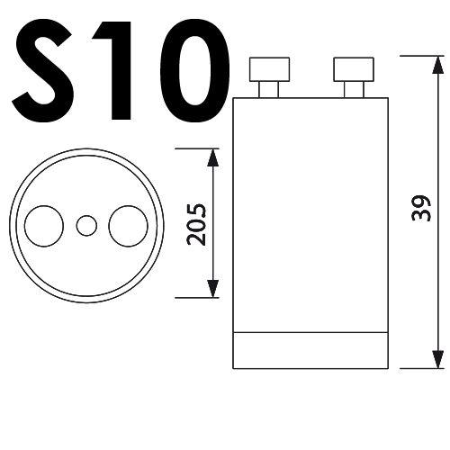 10er Pack S10 STARTER FÜR LEUCHTSTOFFRÖHRE LEUCHTSTOFFLAMPE NEONLAMPE NEONRÖHRE