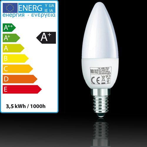 LED LEUCHTMITTEL E14 3,5W KERZE KERZENFORM BIRNE HL4360