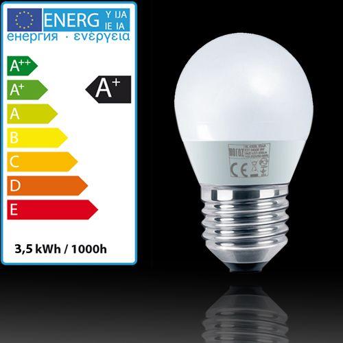 LED LEUCHTMITTEL E27 3,5W MINI GLOBE HL4380