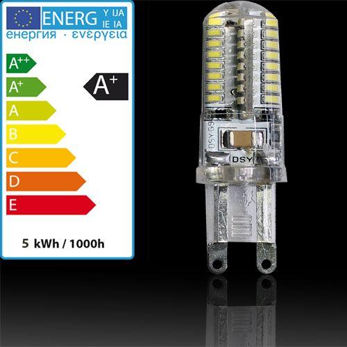 LED LEUCHTMITTEL G9 5W 220-240V SMD-LED HL458L