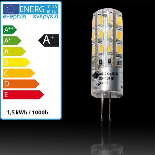 G4 LED LEUCHTMITTEL 1.5W SILICON 12V SMD-LED HL459L